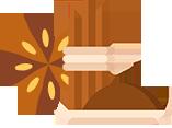Préparations à base d'épices du monde de haute qualité